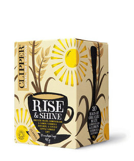 Clipper biologische thee - organic Rise and shine 40g