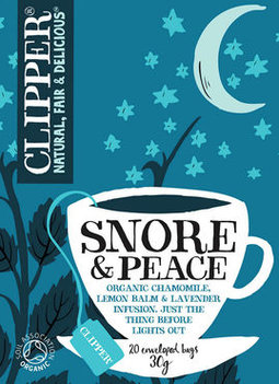Clipper biologische thee - snore and peace 20bt