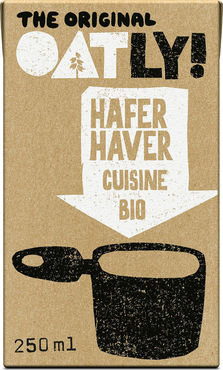 Oatly Cuisine haver 250ml
