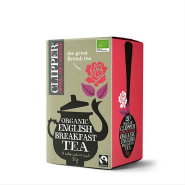 Clipper biologische thee - organic English breakfast tea 20bt
