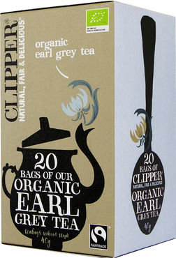 Clipper biologische thee - organic Earl grey tea 20st