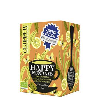 Clipper biologische thee - happy mondays 20bt