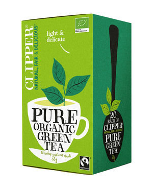 Clipper biologische thee - Pure organic green tea 20st