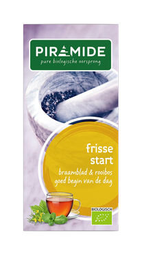 Piramide biologische thee frisse start morgenmix 20bt