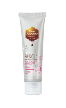 De Traay Bee Honest gezichtsscrub rozen 50 ml