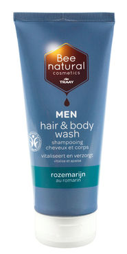 De Traay Bee Honest Men hair en bodywash Rozemarijn 200 ml
