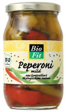 Bio Fit Pepers mild 320g