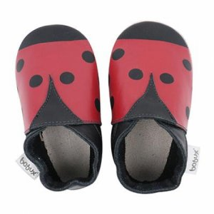 Bobux 4297 Red and black ladybird XL